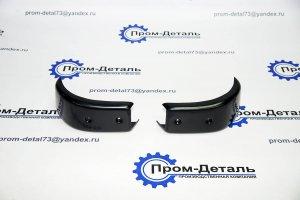 накладки бампера Хантер передние (клыки) 31512-2803058(59)