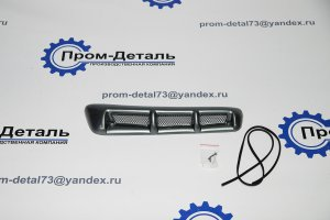 Воздухозаборник УАЗ-Патриот Кварц ( серебристо-серый)
